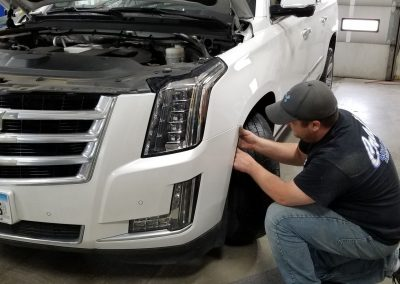 Jeremiah - repairing vehicle